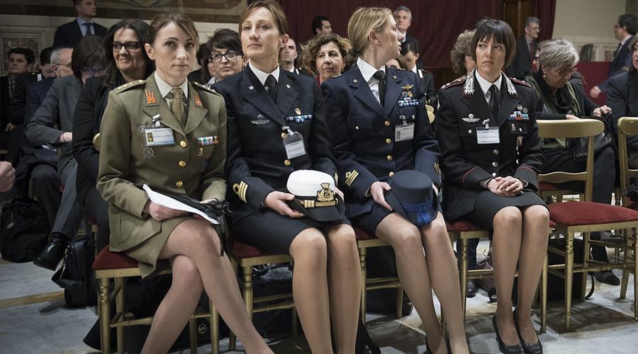 Donne nelle Forze armate: sono oltre il 7% dell'intero organico