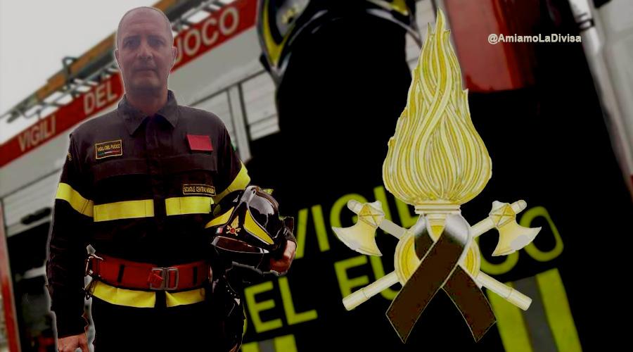 Ancona: Vigili del Fuoco in lutto, deceduto Andrea Giachi a causa di un malore