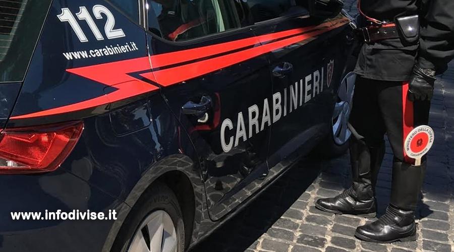 Evade due volte in tre giorni dai domiciliari: fermata e denunciata per l'ennesima volta dai Carabinieri