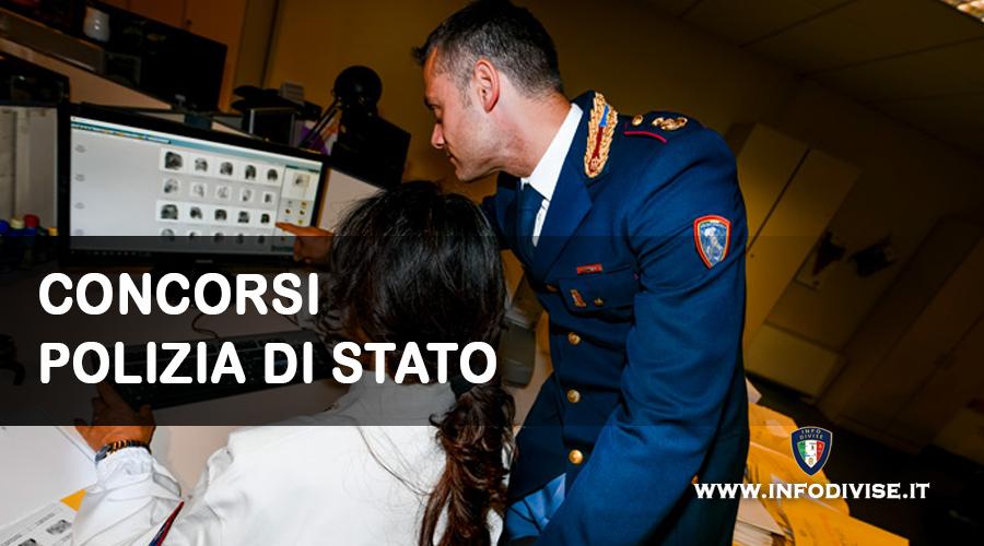 Polizia di Stato: pubblicato il concorso per 64 commissari tecnici