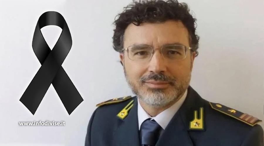 Guardia di finanza in lutto: morto il luogotenente Giacomo Scafuri