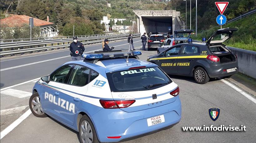 Covid, circolare della Polizia: controlli mirati in 'aree a rischio'