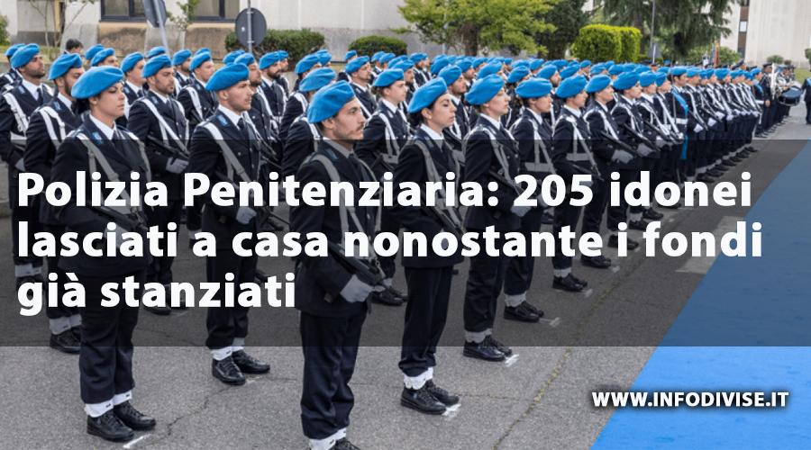 Idonei non vincitori (aliquota A – Militari) del concorso Agenti Polizia Penitenziaria 754/938