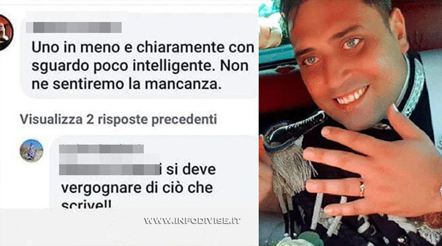 Insultò su Facebook il carabiniere ucciso: prima udienza presso il Tribunale di Novara