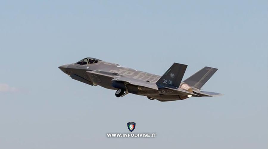 Primo volo per il 14° F-35A destinato all'Aeronautica Militare