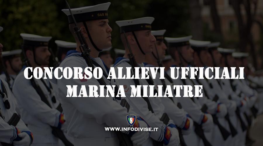 Marina Militare: concorso 176 Allievi Ufficiali AUFP e AUPC