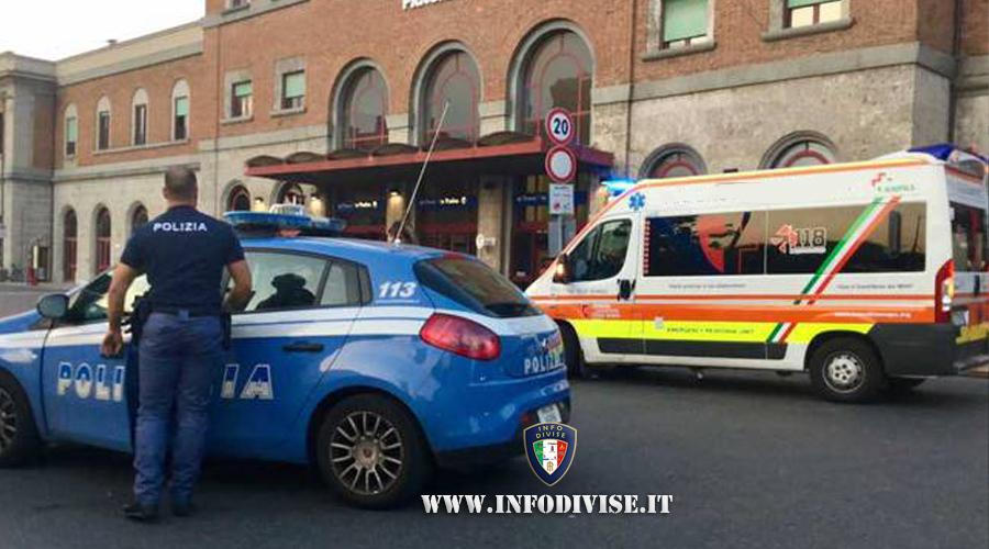Trieste, poliziotto investito da trafficante di migranti: lesioni alle gambe per l'agente