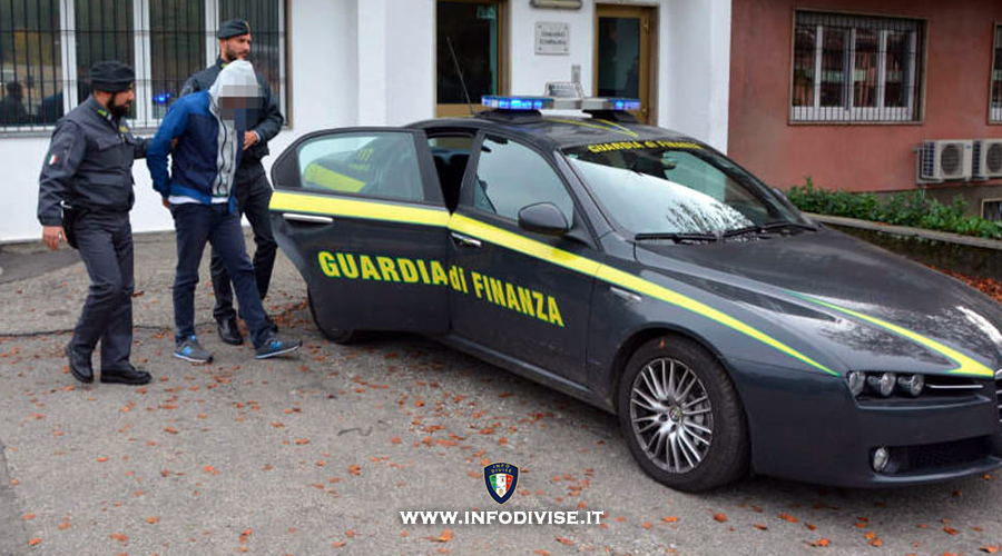 Fisco: Frode da 20 milioni di euro, arrestato ex finanziere