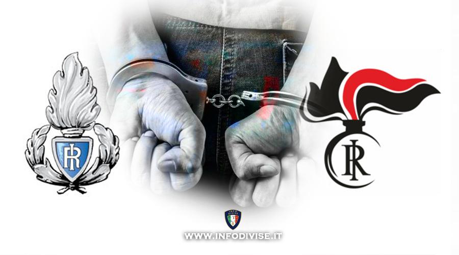 Poliziotto penitenziario e Carabiniere liberi dal servizio, intervengono e arrestano spacciatore