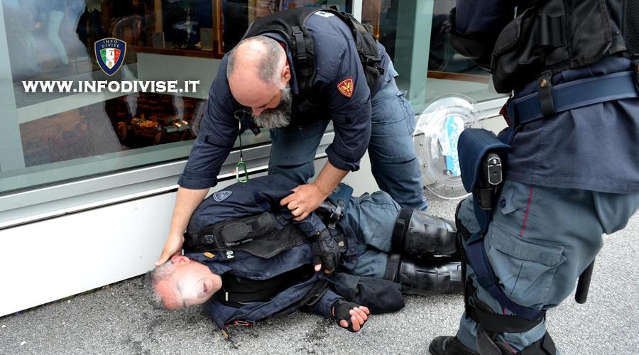 Colpisce con calci e pugni un poliziotto: Assolto dalla Corte d'Appello