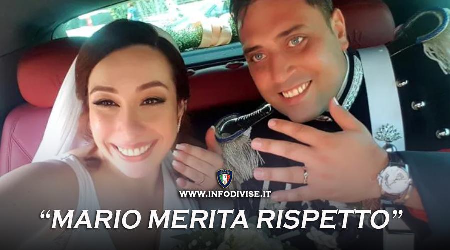 """La vedova di Cerciello Rega: """"Mario merita rispetto"""""""