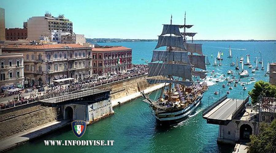 La Marina militare festeggia i 134 anni del ponte girevole di Taranto