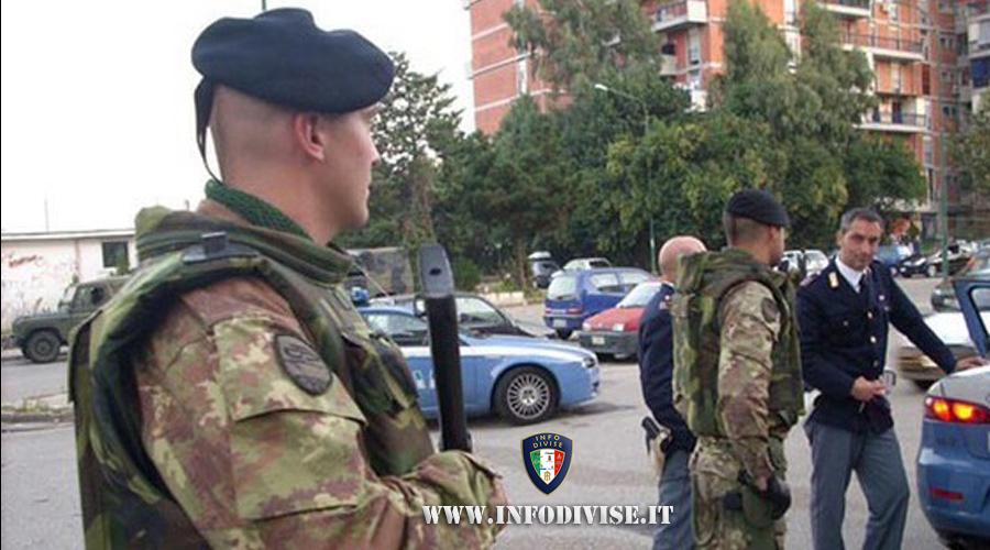 Militari dell'Esercito sventano rapina in banca, arrestato malvivente