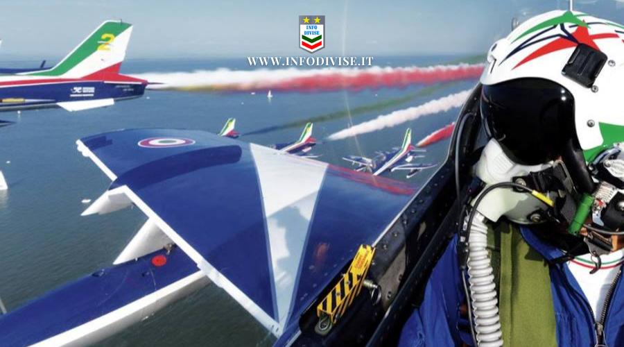 Frecce Tricolori: per gli Europei due passaggi della pattuglia acrobatica