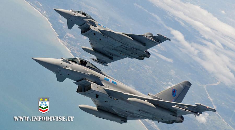 """Aeronautica Militare: continua l'esercitazione """"Falcon Strike 2021"""""""