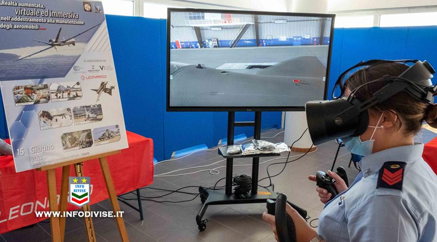 Realtà Aumentata, evento formativo alla Scuola Aeronautica Militare di Caserta