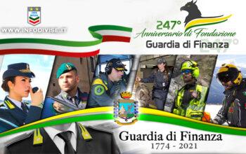 247 Anniversario Guardia di Finanza