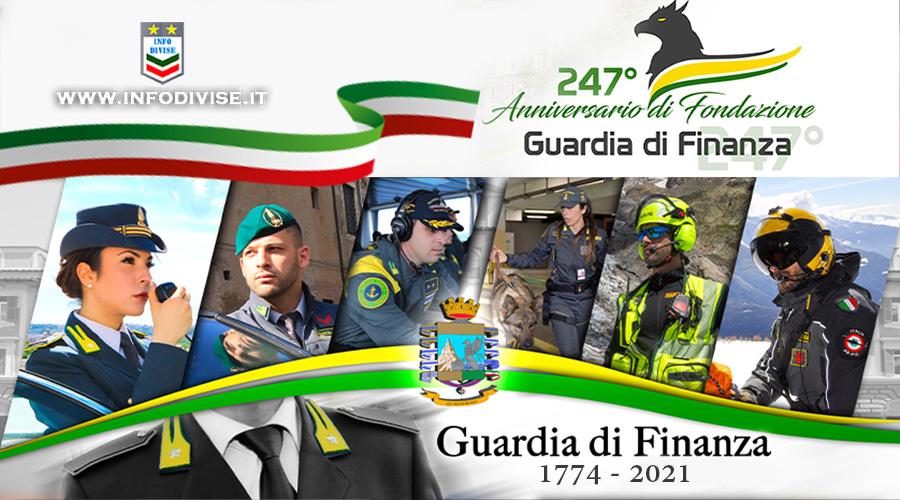 La Guardia di Finanza festeggia il 247° anniversario di Fondazione