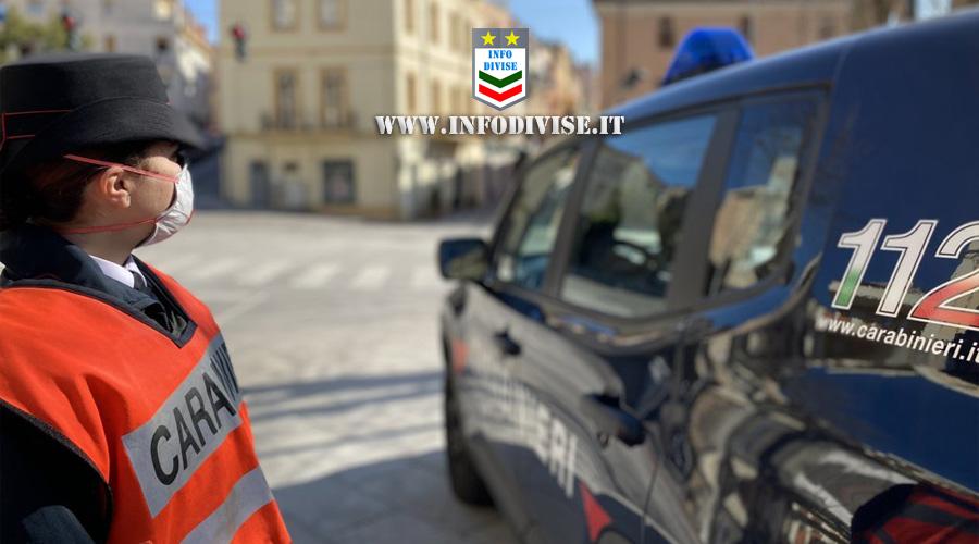 Insulti e sputi a Carabiniere donna al posto di controllo