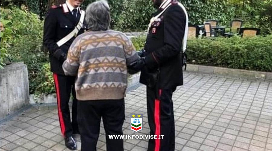 «Mi sento sola»: anziana chiama il 112, i Carabinieri vanno a farle compagnia