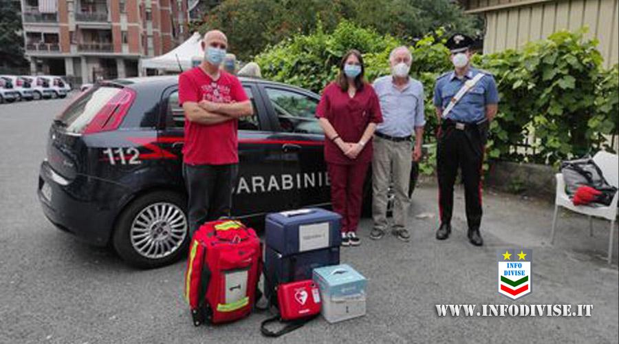 Carabinieri in campo per il servizio vaccini a domicilio ad anziani e disabili