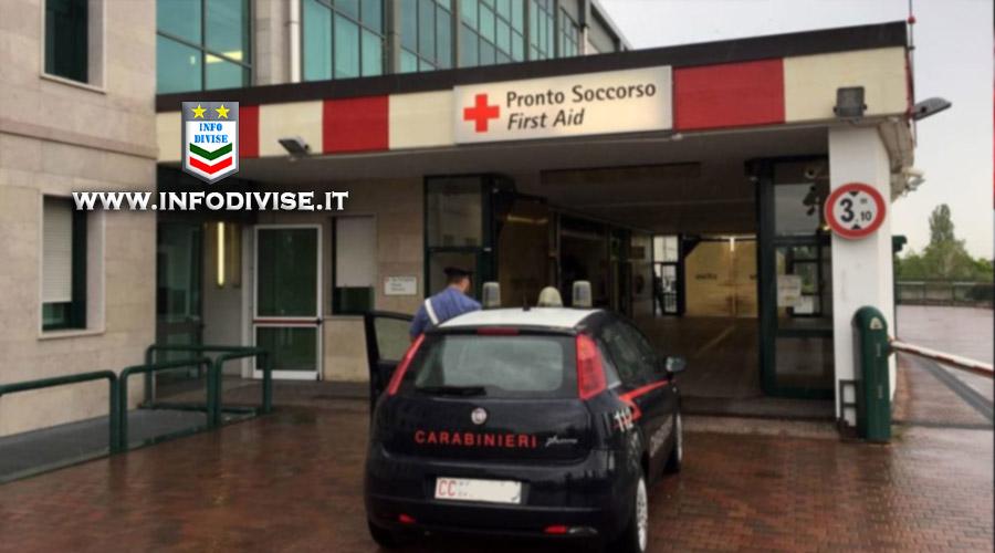 L'ambulanza tarda ad arrivare: bambino di un anno salvato dai Carabinieri