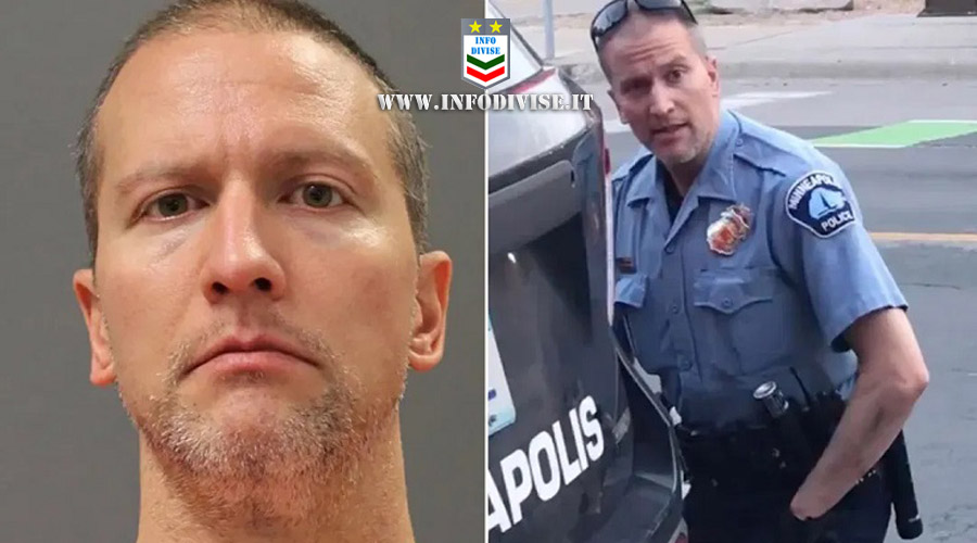 Floyd: l'ex agente condannato a 22 anni e mezzo di carcere