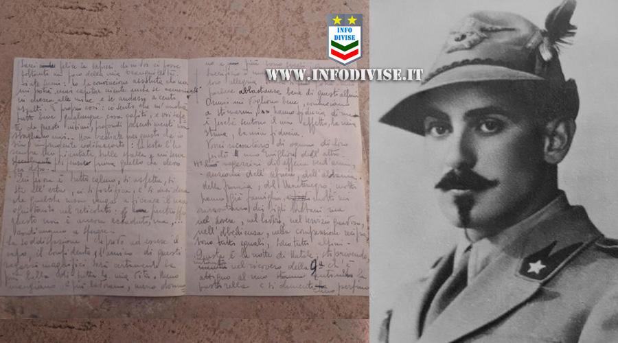 Lettera dal fronte recapitata dopo 78 anni ai famigliari. Scritta dal Ten. Vincenzo Fugalli dalla Russia nel 1943