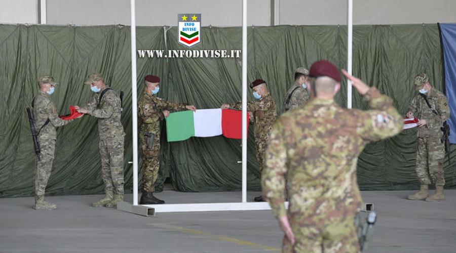 L'Italia ammaina la bandiera in Afghanistan. Conclusa la ventennale presenza del contingente italiano