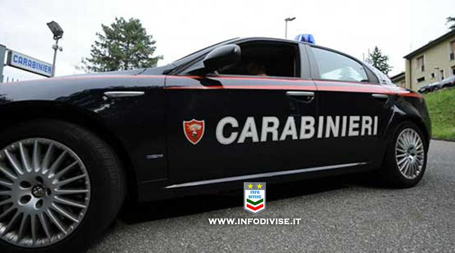 Inseguito getta 8mila euro dall'auto in corsa, poi distrugge i finestrini della 'gazzella' dei carabinieri