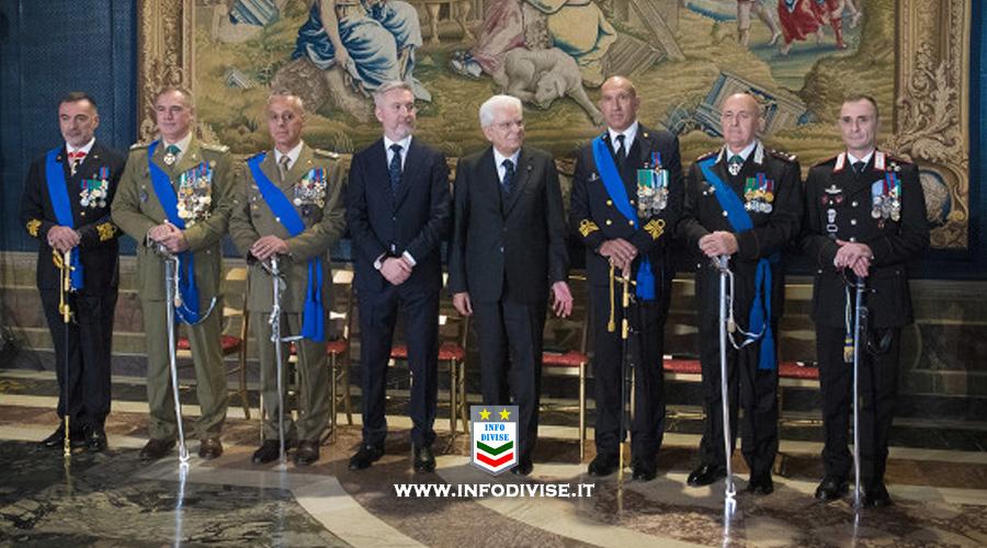 Mattarella: alle Forze Armate va la riconoscenza del Paese