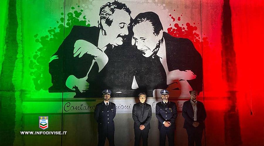 Ivrea, il Tricolore per la memoria dei magistrati Falcone e Borsellino per rendere omaggio alla Polizia Penitenziaria