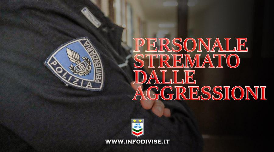 Perugia, ancora un' aggressione in carcere: detenuto colpisce con una testata al volto un ispettore della Penitenziaria