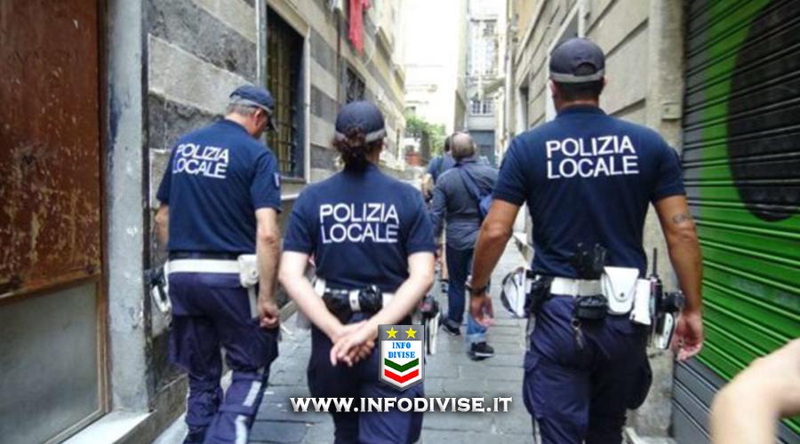 Genova: uso di bodycam e droni alla Polizia Locale. Vietati orecchini e piercing per gli agenti