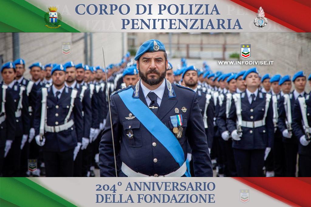 La Polizia Penitenziaria festeggia il 204° Anniversario di Fondazione