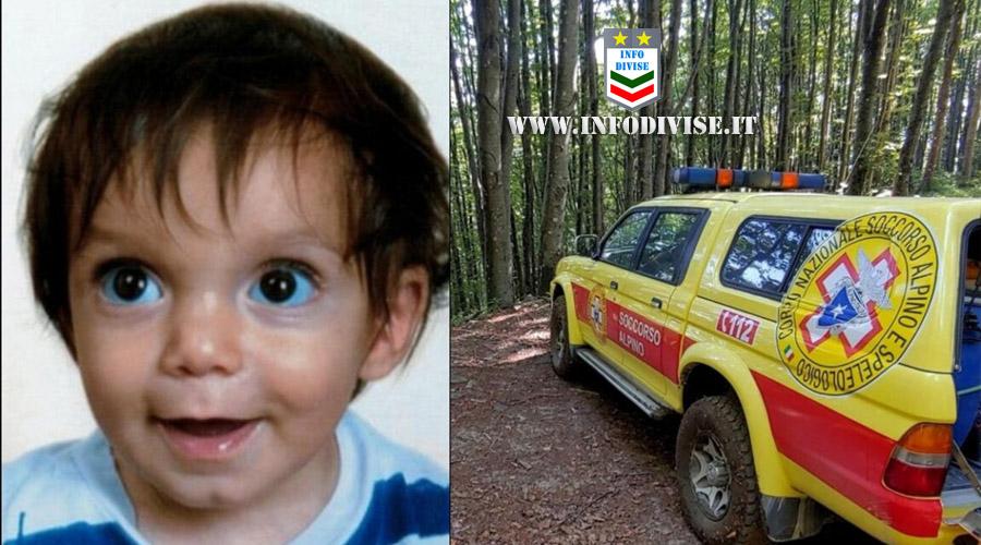 Nicola, bambino di due anni scomparso nel nulla: le ricerche nella notte danno esito negativo