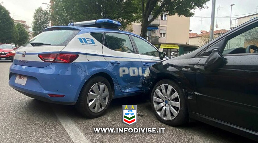 Fermato per un controllo si presenta come Carabiniere. Tenta di fuggire speronando la polizia: arrestato