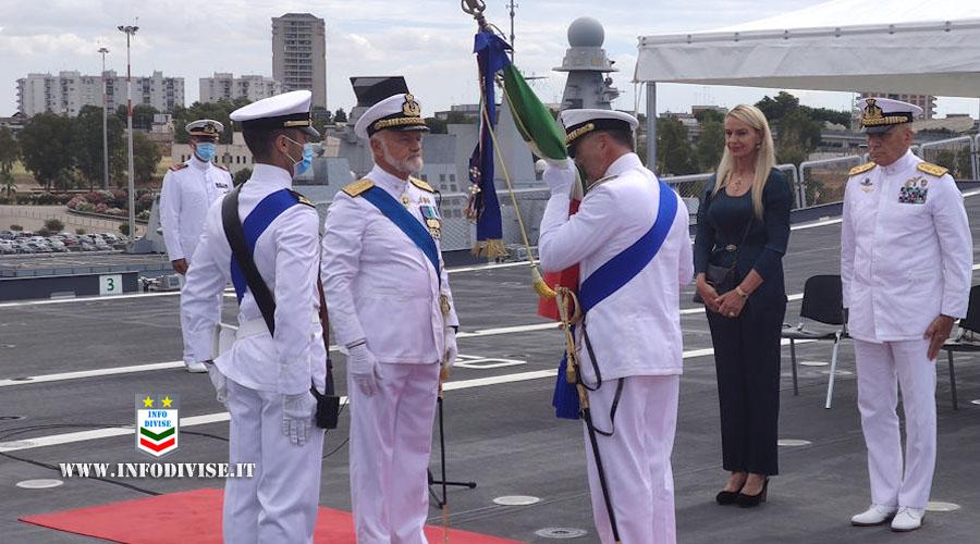 L'Ammiraglio Credendino è il nuovo Comandante della Squadra Navale della Marina Militare
