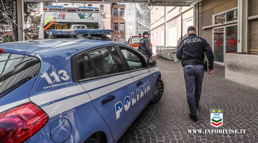 Uomo si dà fuoco con un secchio di benzina, salvato da un poliziotto: entrambi sono in gravi condizioni