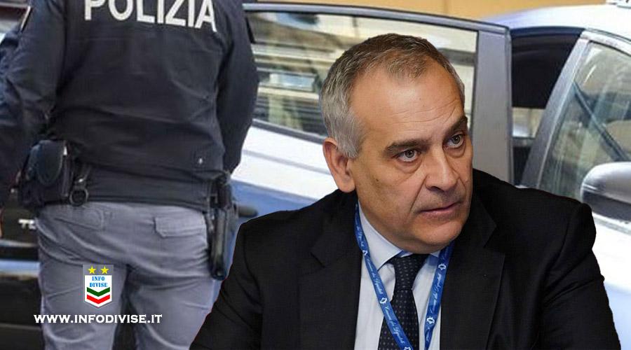 """Il Capo della Polizia telefona alla moglie del poliziotto ferito a Napoli: """"Siamo con lui"""""""