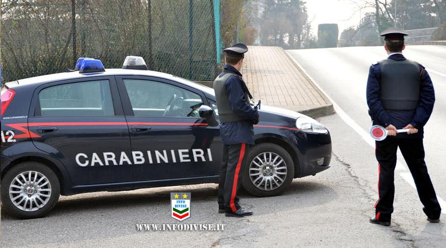 Cerca di investire un carabiniere e fugge: arrestato un 32enne di origini brasiliane