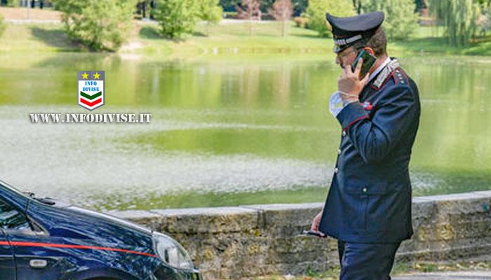 Si getta in un lago per scappare dai Carabinieri: 27enne muore annegato