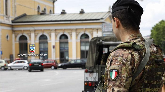 Messina, militari dell'Esercito Italiano sventano furto in un esercizio commerciale