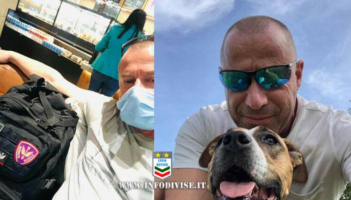 Covid, poliziotto muore a 58 anni: «Entro in intensiva, sulla mia lapide lo scudetto del reparto»