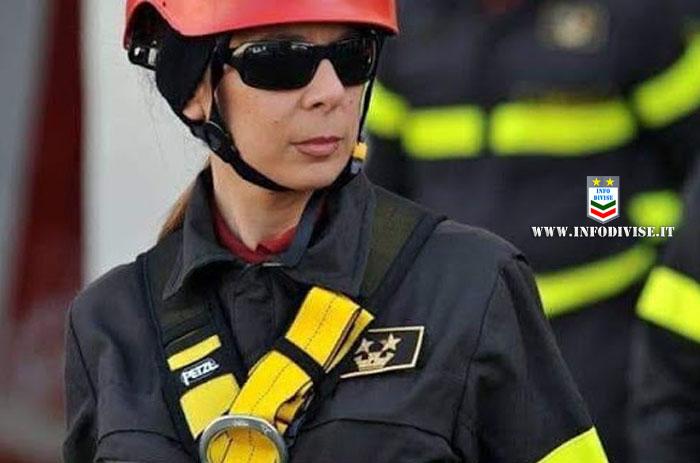 E' salentina la prima donna comandante del Corpo Nazionale dei Vigili del Fuoco