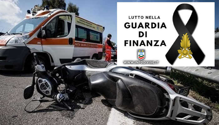Tragico incidente in scooter. Finanziere muore dopo il ricovero