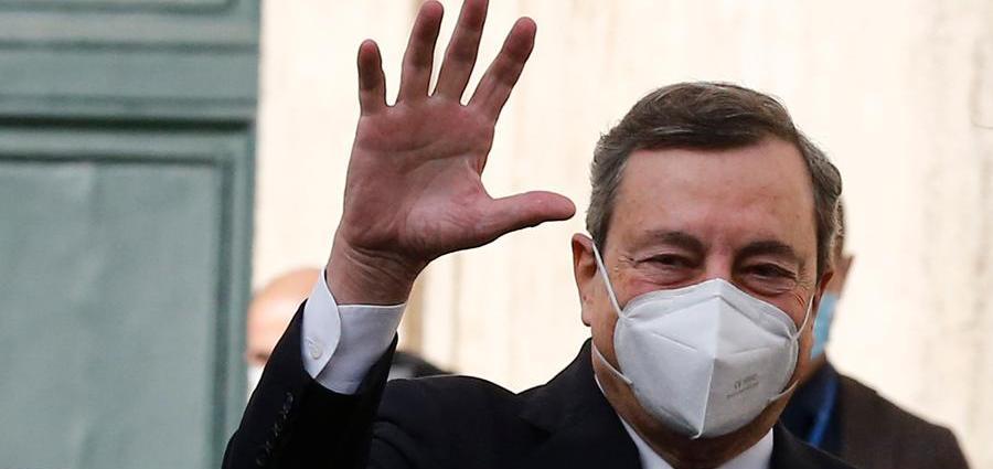 """Afghanistan: Draghi, """"l'Italia reindirizzerà le risorse che erano destinate alle forze militari verso gli aiuti umanitari""""."""