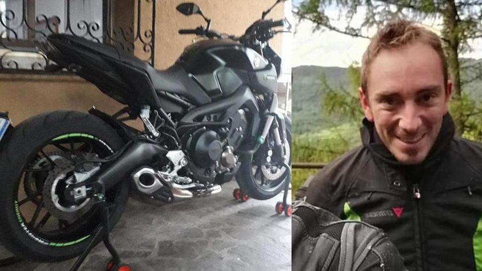 Incidente in moto, morto giovane agente di Polizia locale. A ritrovarlo il papà, anche lui agente di Polizia Locale