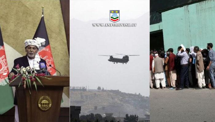 I talebani prendono Kabul. Il presidente fugge. Afghanistan preso in soli 10 giorni