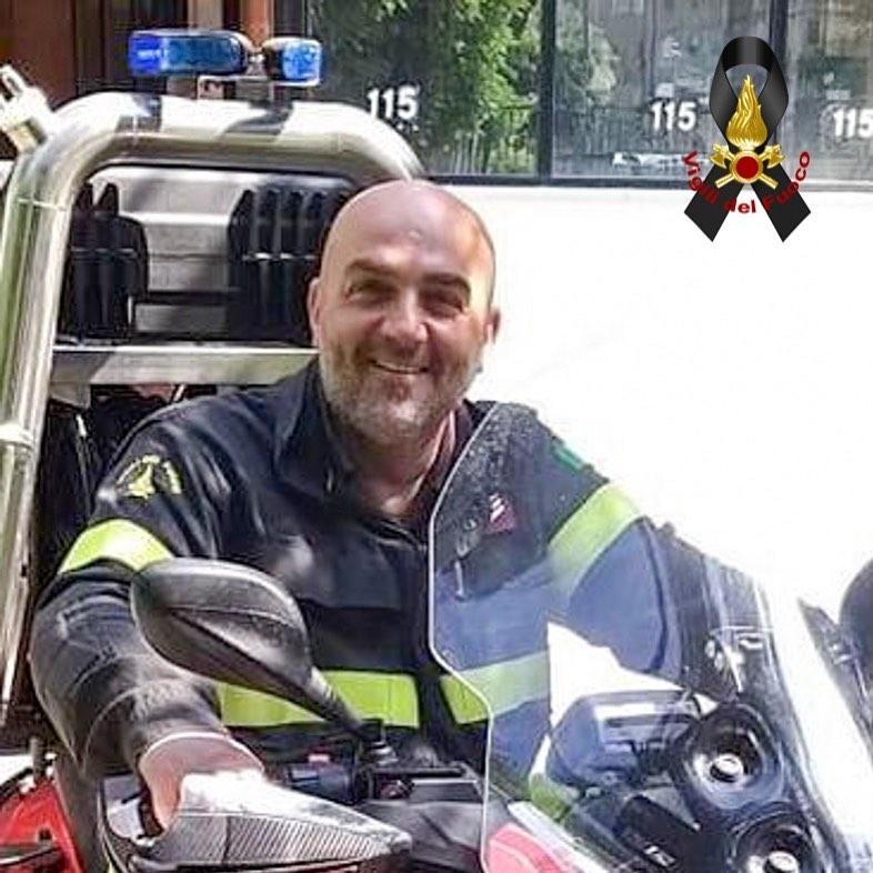 Maurizio Femina, il Vigile del fuoco maratoneta morto di Covid a 46 anni